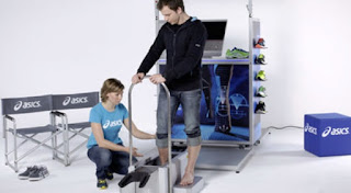 a 3D foot mapping for overpronation