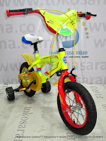 12 Inch Exotic ET12-9802 Sport BMX Kids Bike