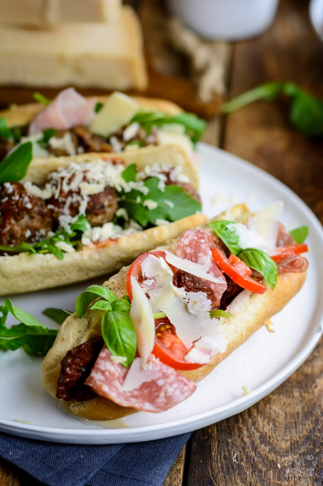 Hot Dog Rezepte Italien, Parmigiano Reggiano, Italian Hot Dog