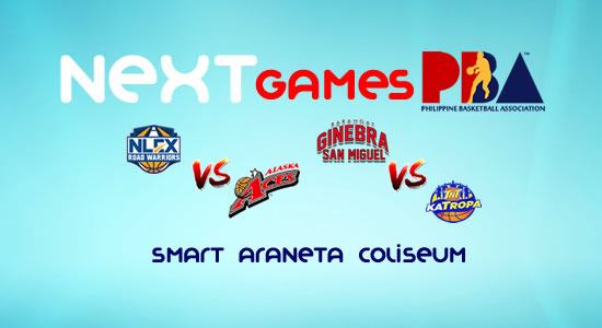 List of PBA Games: February 11 at Smart Araneta Coliseum 2017-2018 PBA Philippine Cup