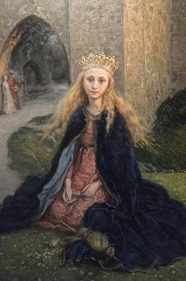 Norvège Musée des beaux-Arts d'Oslo :  Theodor Kittelsen : Le château de Soria Moria