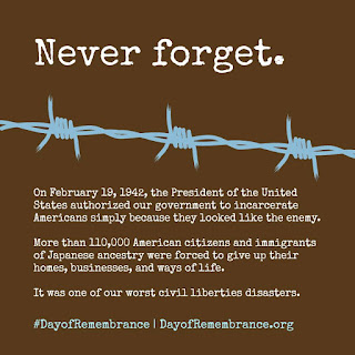 In February 19, 1942, President Roosevelt signed Executive Order 9066 authorizing internment of people of Japanese ancestry