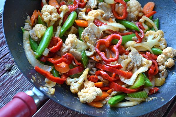Make-it-your-way Sweet & Sour Stir Fry!