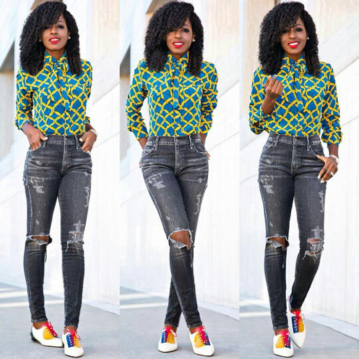 ankara blouses on jeans (2)
