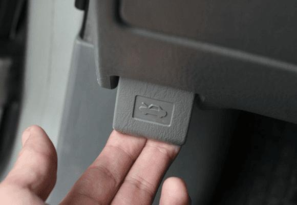 Óleo-alavanca-botão