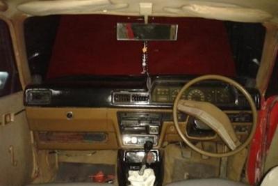 Interior Toyota Corona TT Restorasi