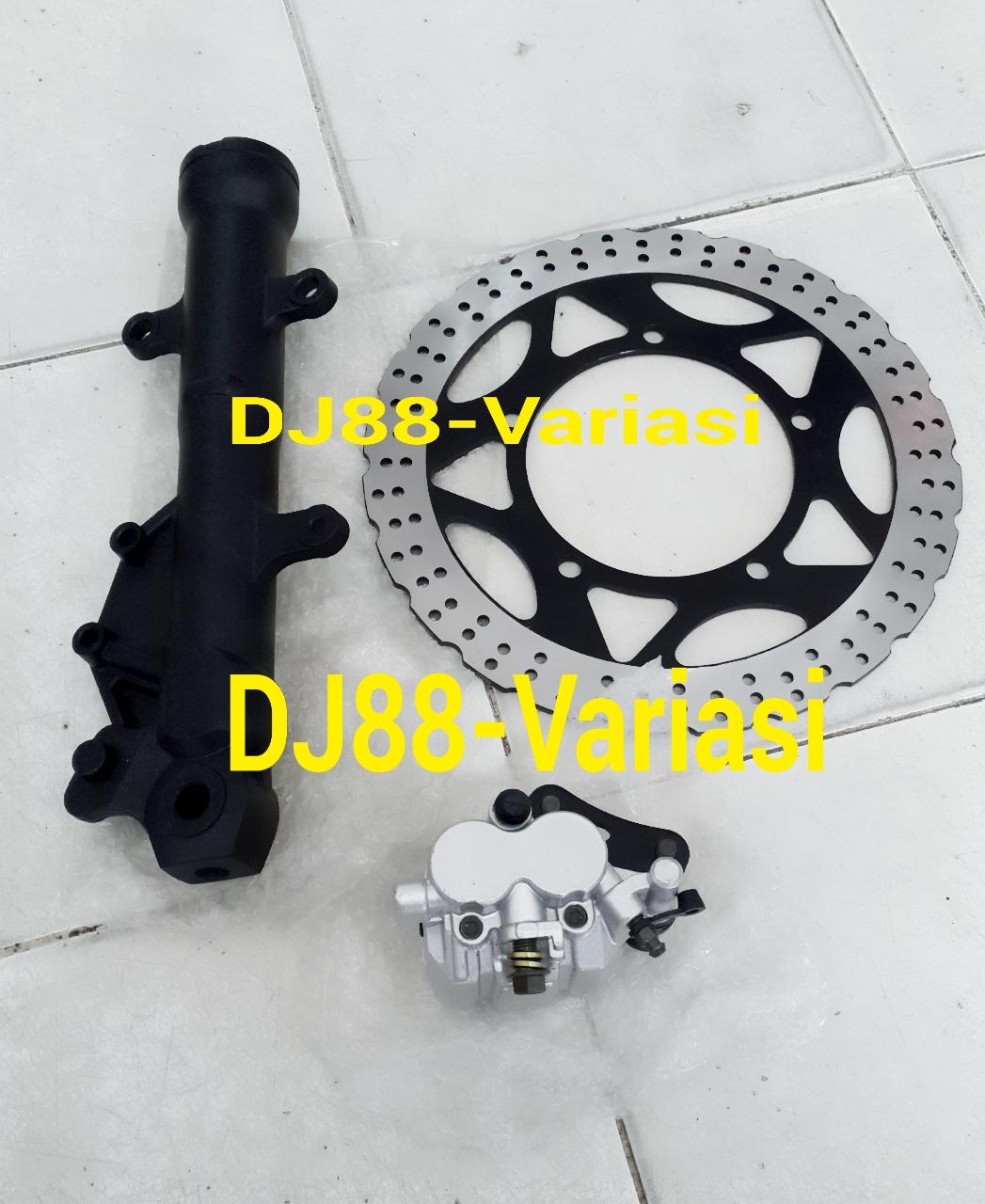 Dj88 Variasi Toko Aksesories Terlengkap Dan Terpercaya Se Indonesia Dudukan Plat Nomor N Max Paket Double Disc Tabung Shock Kiri Kaliper Depan Cakram Ninja 250 Fi Z250 Rubah Velg Standard Jadi