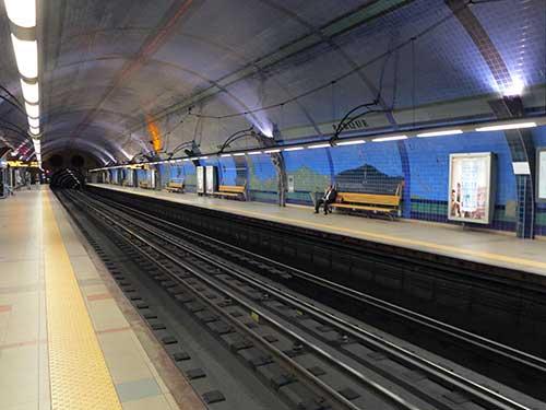 Parque Station Lisbon.