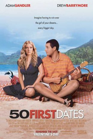 50 First Dates 2004 BRRip 720p Dual Audio In Hindi English
