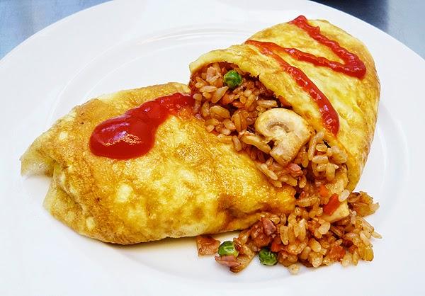 resep cara membuat Nasi omelet