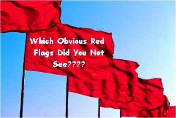 Big red flags dating for women