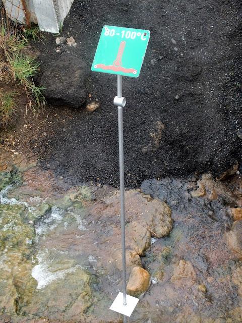 Agua a más de 100ºC Islandia