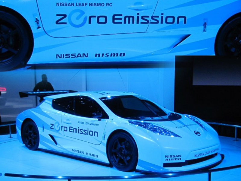 Concept Cars 2000 2012 New Nissan Leaf Nismo Rc Concept Cars