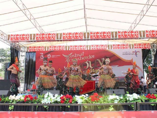 Festival Cross Border Jayapura Tingkatkan Kunjungan Wisman di Skouw