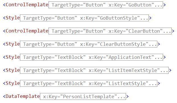 Jeremy Bytes: Metrocizing XAML: Part 2: Control Templates