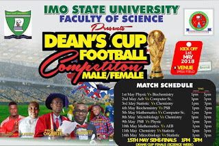 IMSU Soccer Feast: Faculty Of Science Set To Begin Faculty Tournament