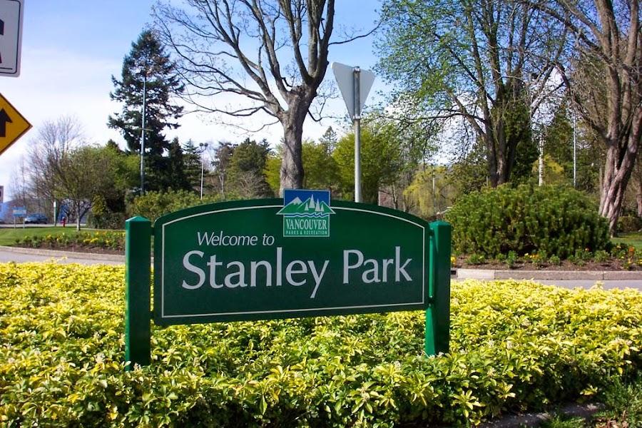 Bienvenidos al Parque Sanley en Vancouver, Canada