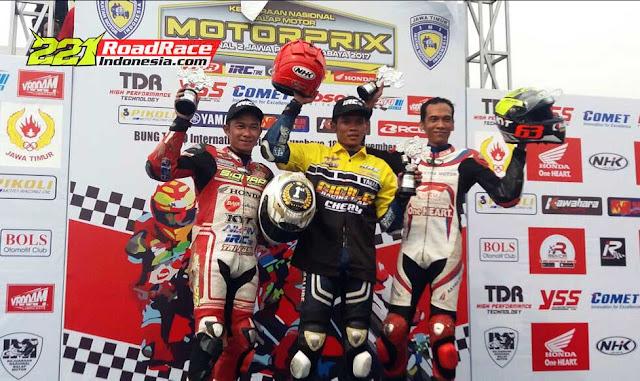 Hasil Final MotorPrix Surabaya 2017, Rider KALTIM Menggila di Tanah Jawa