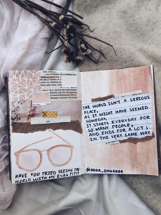 best of art journal: october glory | Noor's Place | A