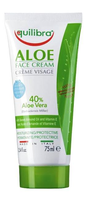 Equilibra aloesowy krem do twarzy 40% aloesu