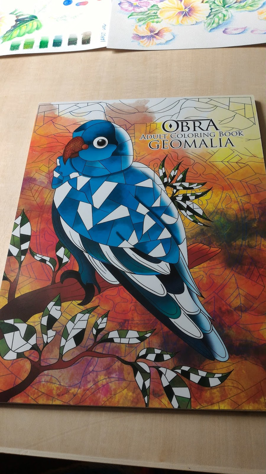 This Is The Cover Of OBRA Geomalia