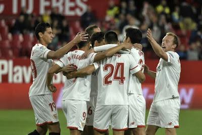 Crónica FC Sevilla FC 4 - Cartagena 0