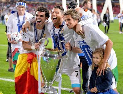 Las imágenes del Real Madrid Campeón Champions 2014 coentrao pepe ronaldo