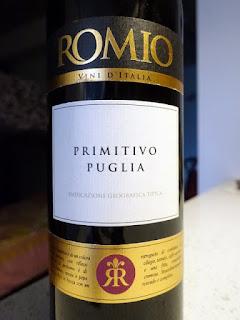 Romio Primitivo 2016 (87 pts)