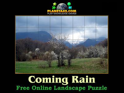 Coming Rain Puzzle