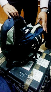 Isi dari backpack detector