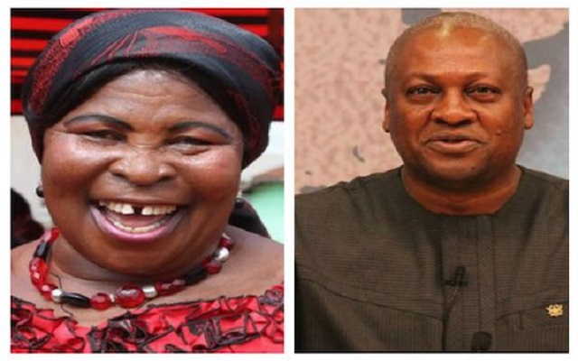 Mahama's campaign song rings on Akua Donkor's phone at EC