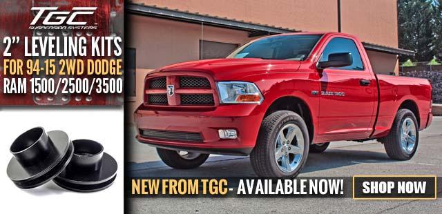 2015 Ram 1500 Leveling Kit >> Shop Talk Top Gun Customz New Tgc Product 2 Front