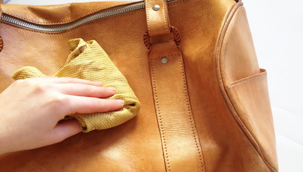 Caring For a Leather Bag - Beeswax cream to protect the leather