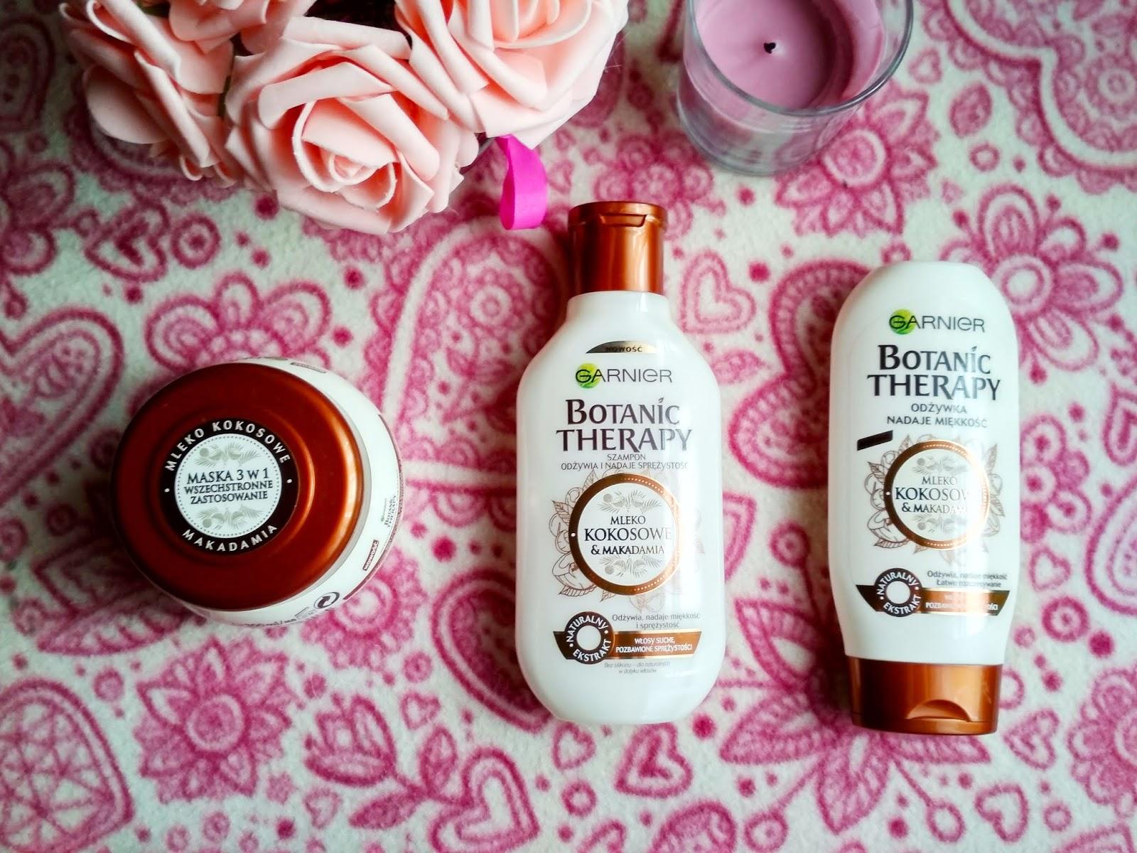 Recenzja - Garnier Botanic Therapy kokos i makadamia