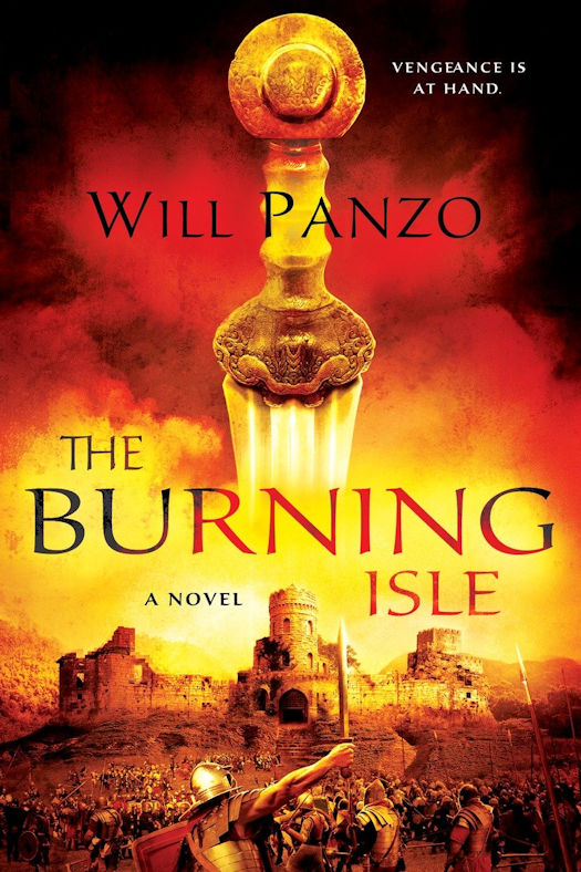 2016 Debut Author Challenge Update - The Burning Isle by Will Panzo