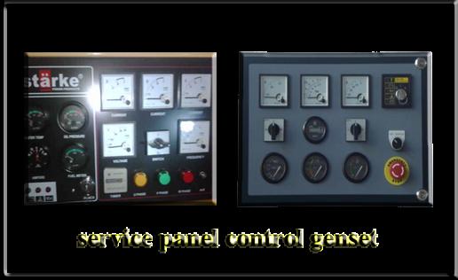 melayani pembuatan dan service panel control genset