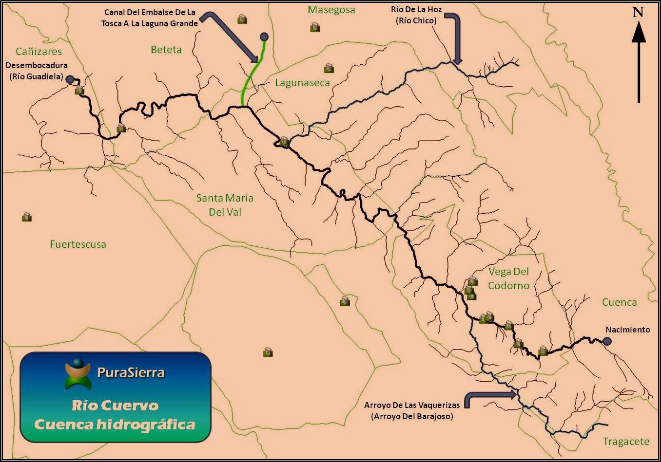 Cuenca hidrográfica del Río Cuervo