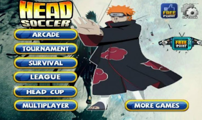 Download Head Soccer Mod Naruto Apk + Data