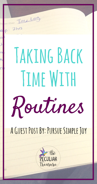 Reclaim the hours in your day (your time) by practicing routine!