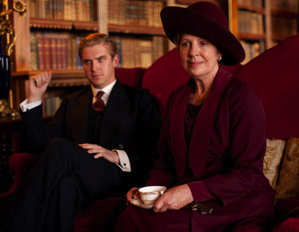 Downton Abbey Season 3 images of Penelope Wilton as Isobel