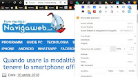 Ingrandire pagine web e aumentare lo Zoom in Chrome e Firefox