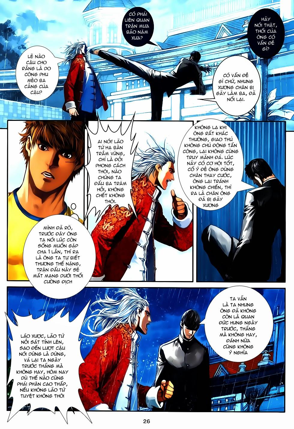 Quyền Đạo chapter 12 - end trang 26
