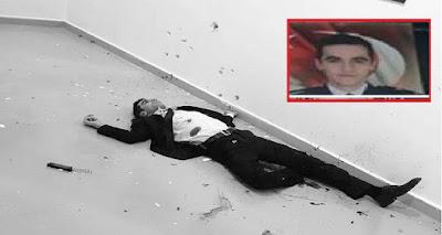 بطاقة هوية قاتل #السفير_الروسي بعد تصفيته تكشف مفاجأة كبرى عن جنسيته و ديانته