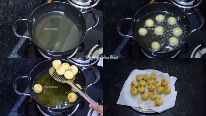 Dry Kachori - Dry Fruits Kachori Recipe - ड्राई कचौरी - खस्ता ड्राई फ्रूट्स वाली कचौरी रेसिपी - Priya R - Magic of Indian Rasoi