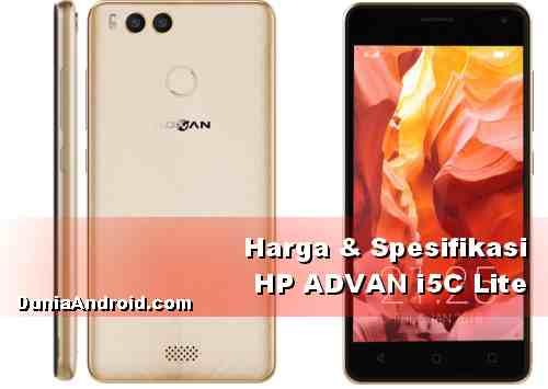 spesifikasi Harga Android Advan i5C Lite