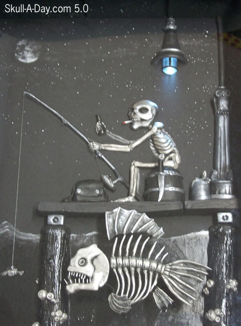 Fishing Skeleton