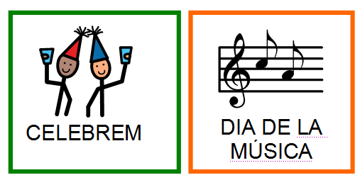 Resultat d'imatges de feliç dia de la música