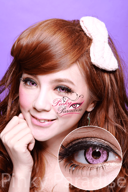 EOS Dolly Eye Pink Circle Lenses (Colored Contacts)