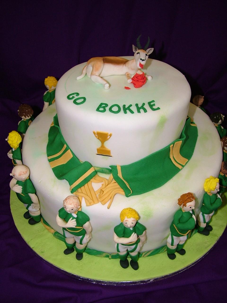 Koekerasie Rugby Cake