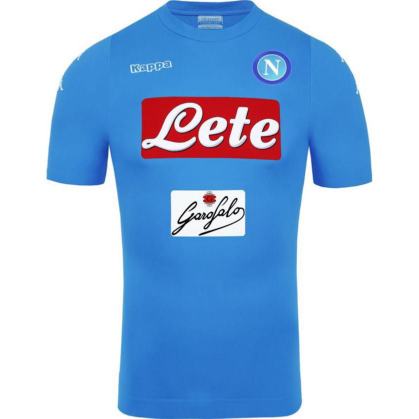 d15a3cbd63bd5 La nueva camiseta Napoli 2016-17 está completamente azul cielo